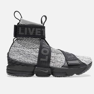 06e19aa4790a Nike Shoes - Kith concrete mens sz 7.5 Nike Lebron 15 gray